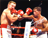 Arturo Gatti & Micky Ward Autographed 16x20 Photo