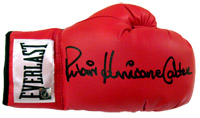 "Rubin ""Hurricane"" Carter Autographed Everlast Boxing Glove"