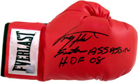 Larry Holmes Autographed Everlast Boxing Glove