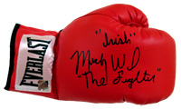 """Irish"" Micky Ward Signed Everlast Boxing Glove"