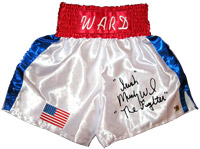 """Irish"" Micky Ward Signed Boxing Trunks"
