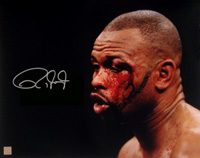 "Roy Jones Jr. Signed 16x20 ""Blood\"" Photo"