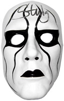 Sting Autographed Ceramic Mask
