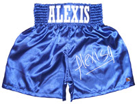 Alexis Arguello Signed Boxing Trunks