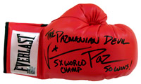 "Vinny ""Paz"" Pazienza Autographed Everlast Boxing Glove"
