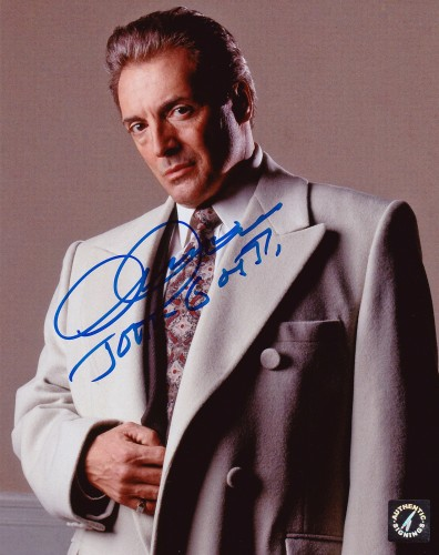 "Armand Assante ""John Gotti"" Autographed GOTTI 8x10 Studio Photo"