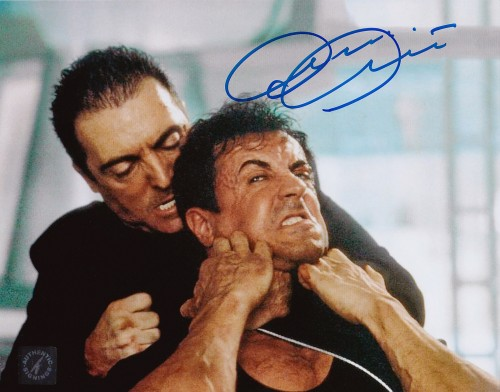 Armand Assante Autographed Judge Dredd 8x10 Photo