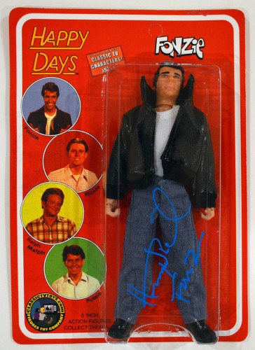 "Henry Winkler ""The Fonz"" Happy Days Autographed 8 Inch Action Figure"