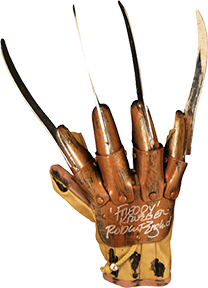 Robert Englund Signed Freddy Krueger Glove