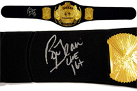 Ric Flair Autographed Replica Heavyweight Championship Belt