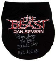 "Dan Severn ""The Beast"" Signed Fight Trunks"