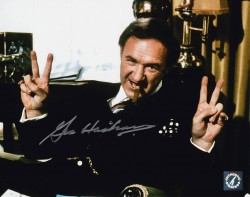 "Gene Hackman ""Lex Luthor"" Autographed Superman Peace Signs 8x10 Photo"
