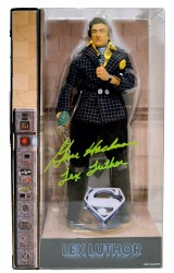 "Gene Hackman ""Lex Luthor"" Autographed SUPERMAN Mattel Action Figure"