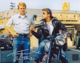 "Henry Winkler ""The Fonz"" Happy Days Autographed 8x10 Photo w/ Richie Cunningham"
