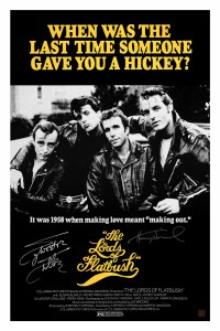 Sylvester Stallone & Henry Winkler Autographed LORDS OF FLATBUSH 24x36 Movie Poster