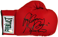 "Ray ""Boom Boom"" Mancini Autographed Everlast Boxing Glove"