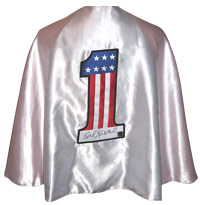 Evel Knievel Autographed Full Size Cape