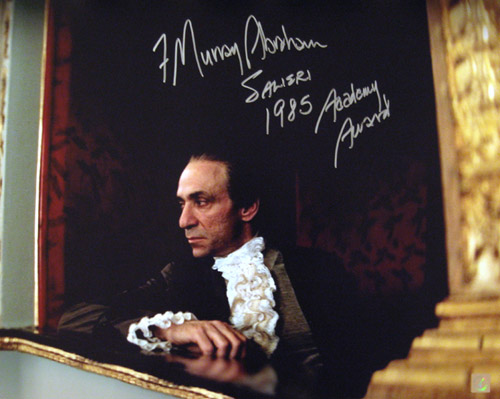 F Murray Abraham Autographed Amadeus 16x20 Balcony Photo