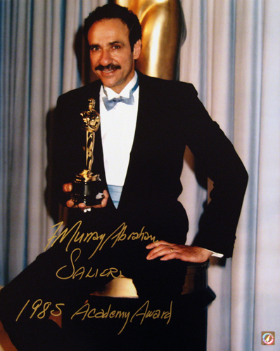 F Murray Abraham Winning Academy Award Oscar Autographed 16x20 Photo