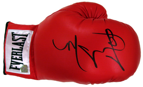 Miguel Cotto Autographed Everlast Boxing Glove