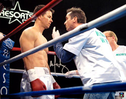 Mark Wahlberg Autographed The Fighter 16x20 Photo
