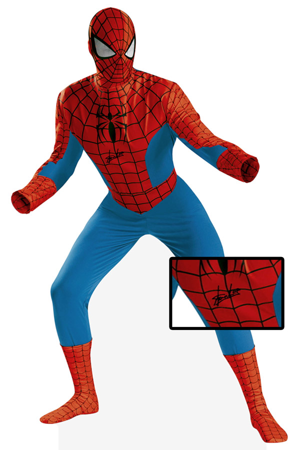 Stan Lee Autographed Spiderman Costume