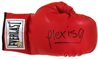 Alexis Arguello Signed  Everlast Boxing Glove