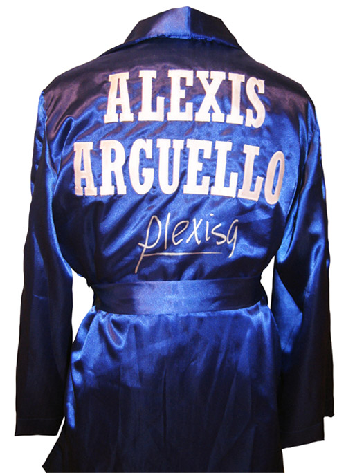 Alexis Arguello  Signed Boxing Robe