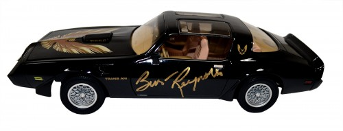 Burt Reynolds Autographed 1:18 Scale Smokey and The Bandit Trans Am