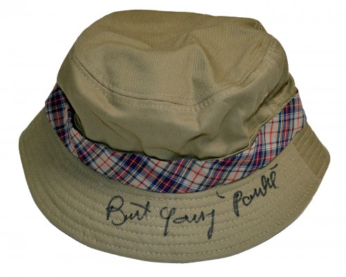 Burt Young Autographed Fisherman's Bucket Hat