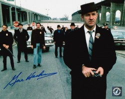 "Gene Hackman ""Popeye Doyle"" Autographed French Connection Street 8x10  Photo"