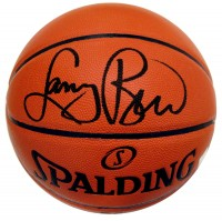 Larry Bird Autographed NBA Spalding Indoor/Outdoor Basketball