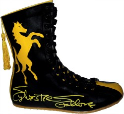 Sylvester Stallone Autographed ROCKY II Stallion Boxing Boot