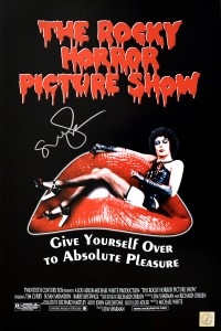 Susan Sarandon Autographed Rocky Horror Picture Show 11x17 Movie Poster